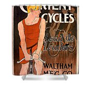 Orient Cycles 1890 Shower Curtain