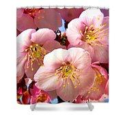 Oriental Flowers Shower Curtain