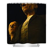 Original Goth Couple Shower Curtain