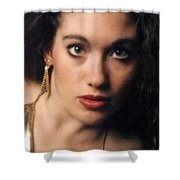 Original Used For Self Portrait  Shower Curtain