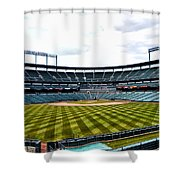 Oriole Park At Camden Yards Shower Curtain