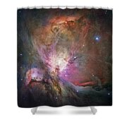 Space Hollywood 2 - Orion Nebula Shower Curtain