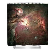 Space Hollywood - Orion Nebula Shower Curtain
