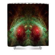 Orion's Reflection - Deep Space Nebula Shower Curtain