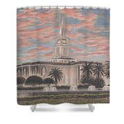 Orlando Florida Lds Temple Shower Curtain