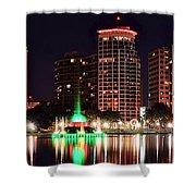 Orlando Panorama Shower Curtain