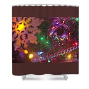 Ornaments-2090 Shower Curtain