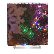 Ornaments-2096 Shower Curtain