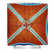 Ornate Ceiling Shower Curtain