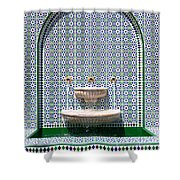 Ornate Fountain - Oman Shower Curtain