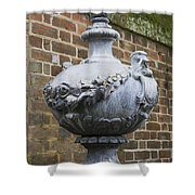 Ornate Garden Urn Shower Curtain