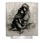 Orphans Shower Curtain