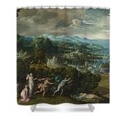 Orpheus And Eurydice Shower Curtain