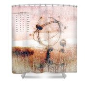 Orrery Shower Curtain by Bob Orsillo
