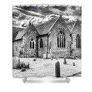 Orsett Church Essex England Shower Curtain