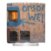 Orson Welles Depository Eleven Mile Corner Arizona 2004 Shower Curtain
