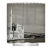 Ortakoy Mosque  Shower Curtain