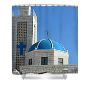 Orthodox Church At Taybeh Shower Curtain