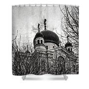Orthodox Church Shower Curtain