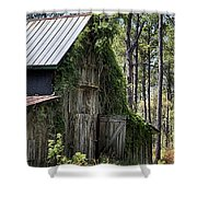 Orton Plantation Barn Shower Curtain