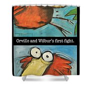 Orville And Wilburs First Flight Shower Curtain