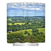 Osage County Lookout Shower Curtain