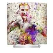 Oscar De La Hoya Shower Curtain