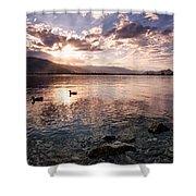 Osoyoos Lake Sunset Shower Curtain