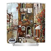 Osteria Sul Canale Shower Curtain