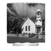 Oysterville Church Shower Curtain