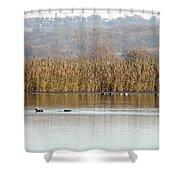 Otmoor Nature Reserve Shower Curtain