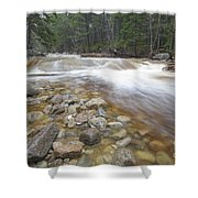 Otter Rocks - White Mountains New Hampshire Usa Shower Curtain