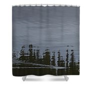Otter X-ing Shower Curtain