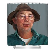 Otto Kilcher Shower Curtain