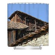 Ottoman Barns Shower Curtain
