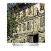 Ottoman Farmhouse Shower Curtain