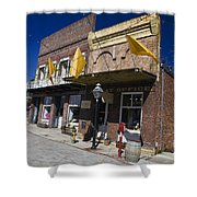 Otts Assay Office And The South Yuba Canal Building Nevada City California Shower Curtain