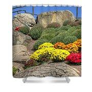 Ott's Greenhouse - Chrysanthemum Hill - Schwenksville - Pa Shower Curtain
