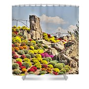 Ott's Greenhouse - Schwenksville - Pa Shower Curtain