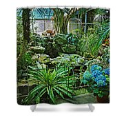Ott's Greenhouse - Schwenksville - Pennsylvania - Usa Shower Curtain