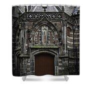 Oude Kerk Door Amsterdam Shower Curtain