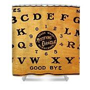 Ouija Board 3 Shower Curtain