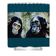 Our Closest Relatives Shower Curtain