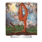 Our Dance With Nature Shower Curtain