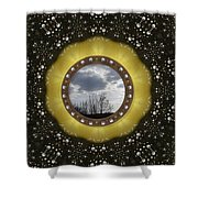 Our Earth Our Mother Pop Art Shower Curtain