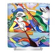 Our First Cruse  Shower Curtain