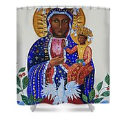 Our Lady Of Czestochowa Shower Curtain