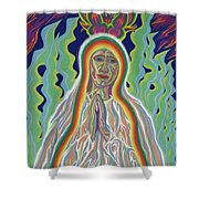 Our Lady Of Fatima 2012 Shower Curtain