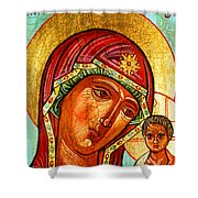 Our Lady Of Kazan Shower Curtain