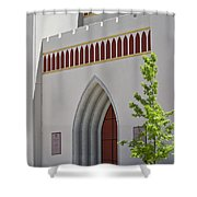 Our Lady Of The Atonement Church Shower Curtain